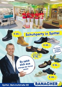 Schuhparty in Spittal